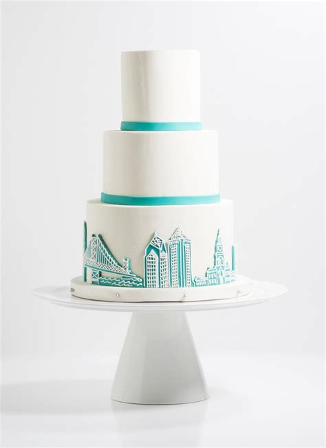 Wedding Cakes Philadelphia by Bakeshop Philadelphia Philadelphia Skyline