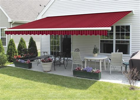 red awning design ideas pictures