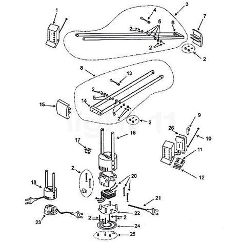 artemide spare parts for tizio 35 black ls lights