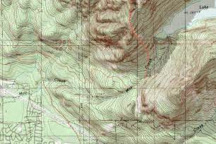 topo map zekes peak topographic map photos diagrams topos