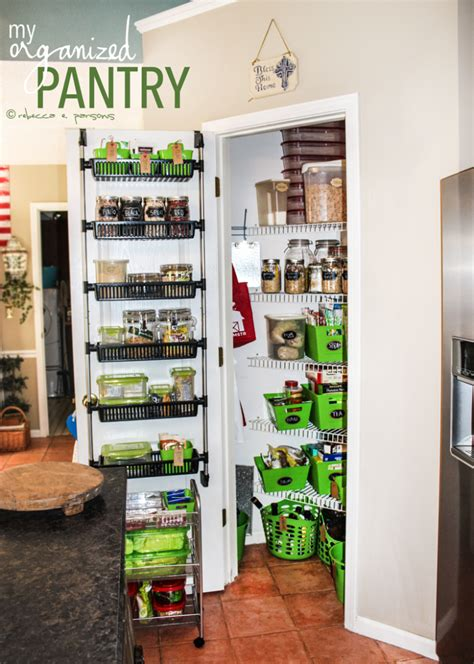 Pantry Makeovers by Kitchen Storage Organized Pantry Makeover Lesson