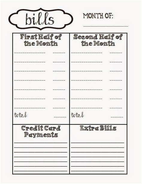 monthly bills organizer spreadsheet best of medical bill organizer