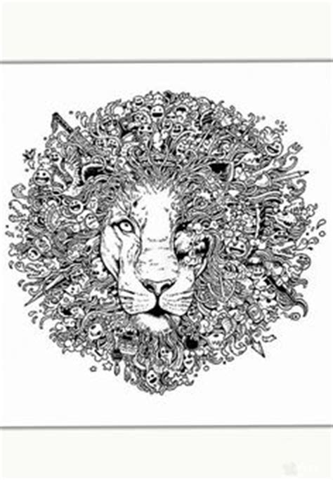 detailed lion coloring pages 1000 images about templates on pinterest dovers