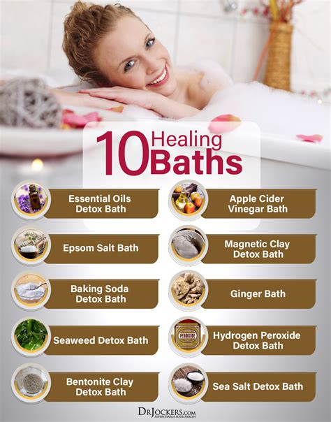 Detox Bath For Depression by 10 Healing Bath Recipes Drjockers