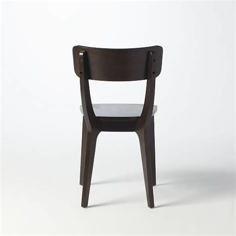 klismos dining chair klismos dining chair chocolate west elm