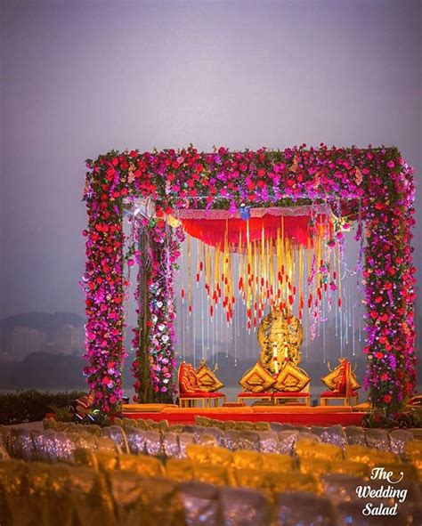 How To Hang Chandelier top mandap designs amp ideas for a picture perfect wedding