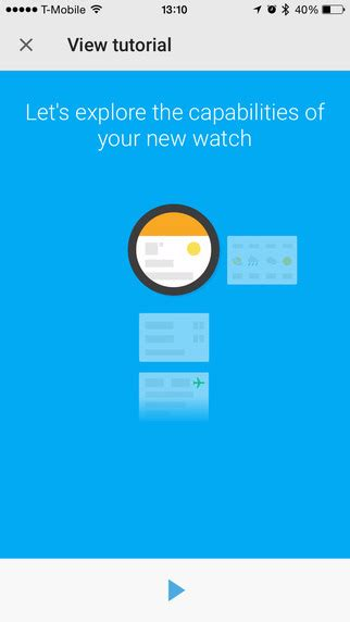 android wear tutorial how to pair your android wear smartwatch with your iphone
