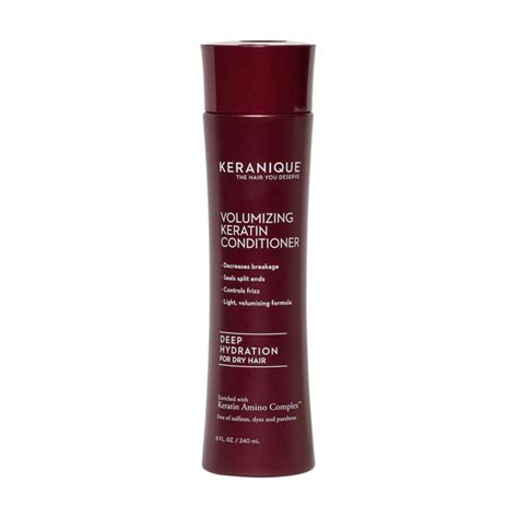 where to buy keranique hair product keranique deep hydration volumizing keratin conditioner