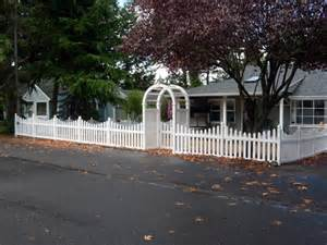 vinyl and wood fences add character and charm to your