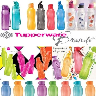 Botol Tupperware qoo10 eco water bottle authentic tupperware water bottle bpa free kitchen dining