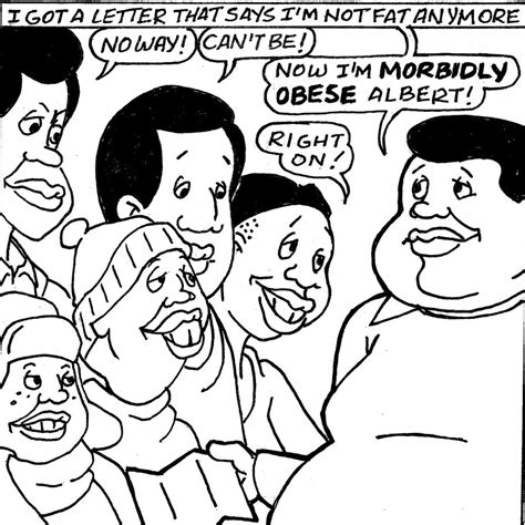 fat albert free coloring pages