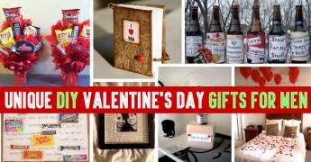 35 unique diy valentine s day gifts for men cute diy projects