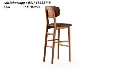 Kursi Bar Stool Kayu kursi bar stool kayu jati klasik kci 138 furniture