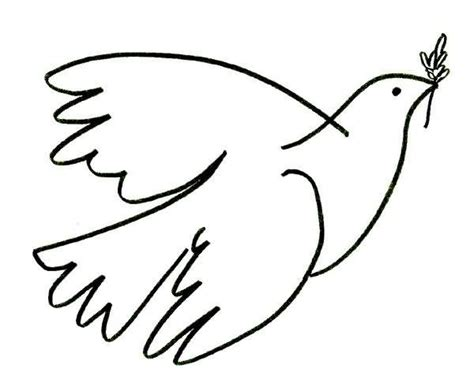 imagenes de palomas blancas de la paz dibujos de palomas la paz para colorear picture car