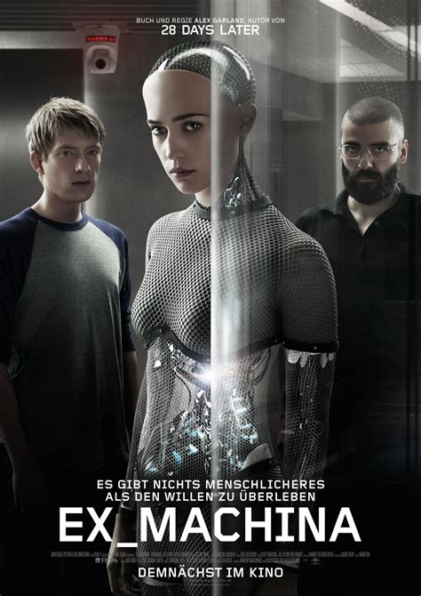 ex machina cast ex machina foto