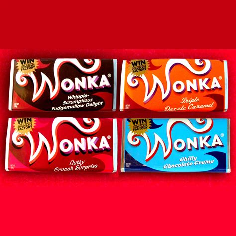 willy wonka bar template bar and pencil and in color