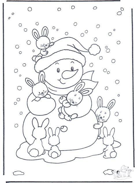 Letter Zaidimas Free Coloring Pages Rabbit Fargeleggingstegninger Vinterdyr