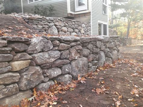 Concord Retaining Walls Tiered Retaining Wall Lincoln Ma Concord Stoneworks