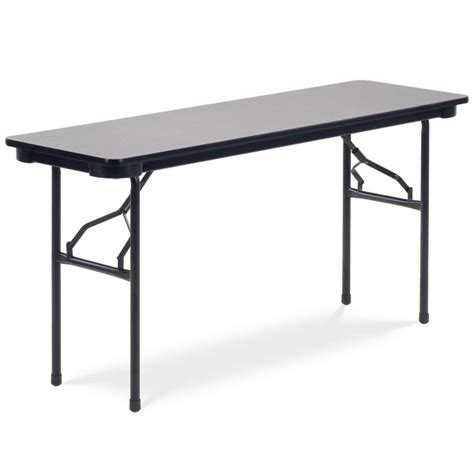 24 x 60 table 602460 24 quot x 60 quot heavy duty laminate top folding table by