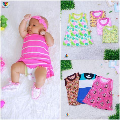 Daster Anak Daster Baby Dress Anak dress kensi bayi uk 0 12 bulan baju tidur baby adem