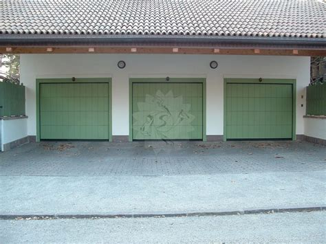 portone sezionale portone garage sezionale falegnameria pojer