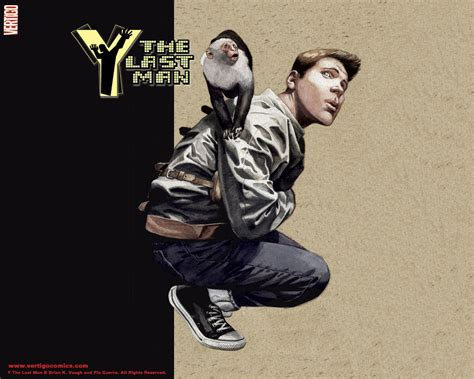 y the last man official vertigo wallpapers y the last man y the