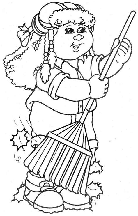 41 best images about still love to color cabbage patch