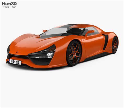 trion nemesis trion nemesis rr 2015 3d model hum3d