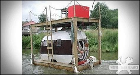 trash house white trash house boat whitetrashrepairs com