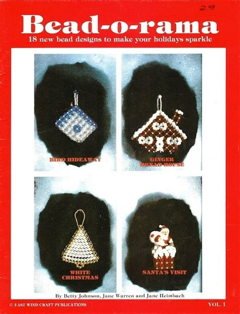 collection beading patterns volume 1 books gainesville arts and crafts sell o rama