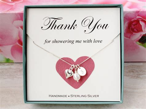 thank you gift for bridal shower hostess bridal shower hostess gift for baby shower hostess thank you