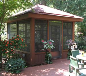 detached screen room screened porch ideas for a small backyard st louis decks screened porches pergolas by archadeck