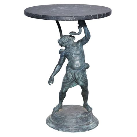 Bronze Accent Table Bronze Bacchus Accent Table At 1stdibs