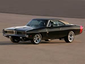 dodge charger rt 1969 black car
