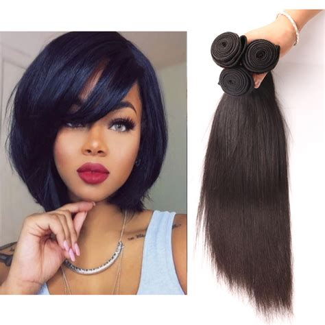 10 inch weave hairstyles 10 inch weave hairstyles for black 4pcs 10inch colored
