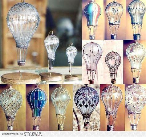 diy stained glass light bulb lightbulb air balloon ornaments pwezentz
