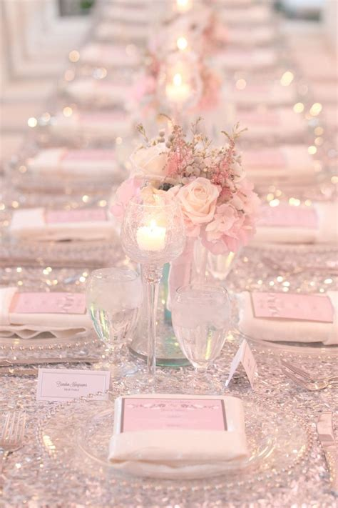 pink wedding theme decorations pink wedding theme