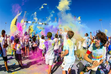 las vegas color run the color run to return to qatar in january doha news