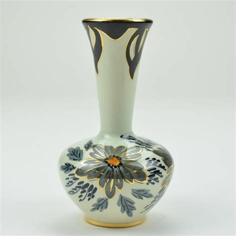 Painted Vases by Floral Pattern Painted Vase Made In 6 5 Quot