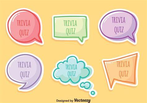 love pattern quiz trivia quiz vector set download free vector art stock