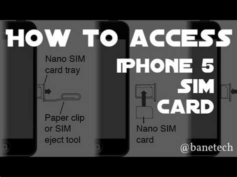 Iphone 4 To Iphone 5 Sim Card Template by Remove Install Sim Card Iphone Iphone 5 5s Iphone 4s