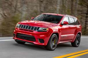 Are Jeep Grand Cherokees Cars Machine Jeep Grand Trackhawk The Most