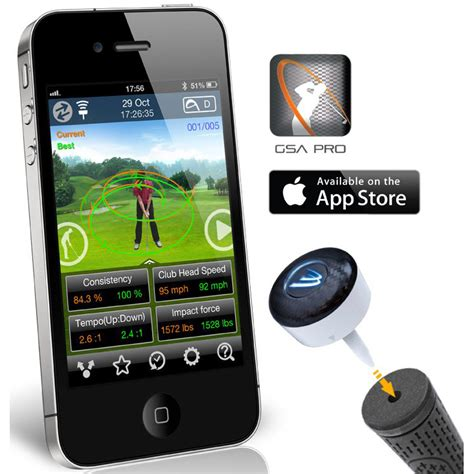 swing analyzer quot new 2014 quot 3 bays gsa pro golf swing analyser for apple i