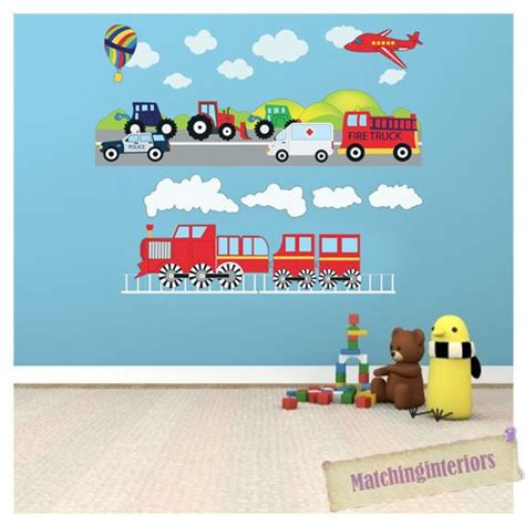 Car Wall Decals For Nursery 25 Best Ideas About Boys Wall Stickers On Pinterest Images Wall Decals