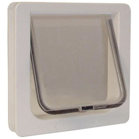 Cat Doors Home Depot by Ideal Pet 6 25 In X 6 25 In Small Cat Flap Cat Door With