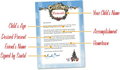printable personalized santa letters free letters from santa free personalized printable