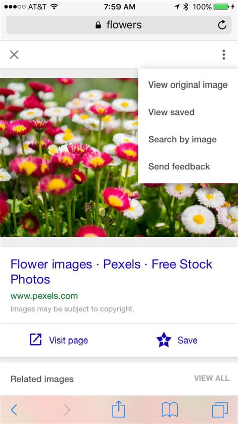 mobile image search mobile image search adds drop other ui changes