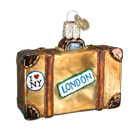 suitcase ornament 28 images travel themed ornament