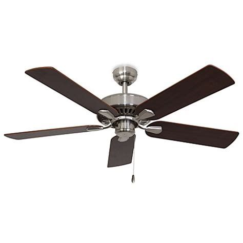 bed bath and beyond ceiling fans 52 inch cordova brushed nickel ceiling fan bed bath beyond
