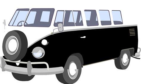 volkswagen van transparent kostenlose vektorgrafik vw bus van deutsch fahrzeug